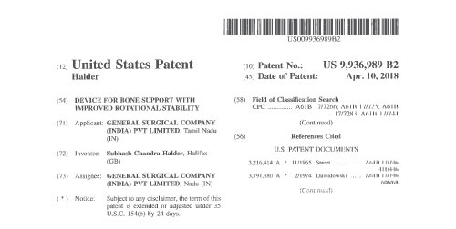 us-patent-Certificate